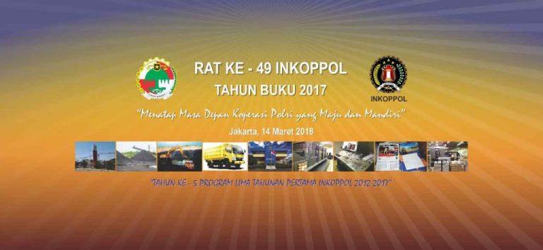 Rapat Anggota Tahunan ( RAT ) Inkoppol Polri ke-49